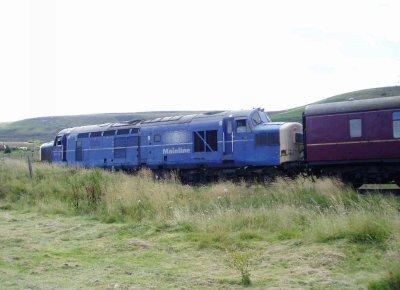 Class 37 Locomotive Data Site